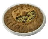 Пирог слоеный с черносливом и курагой