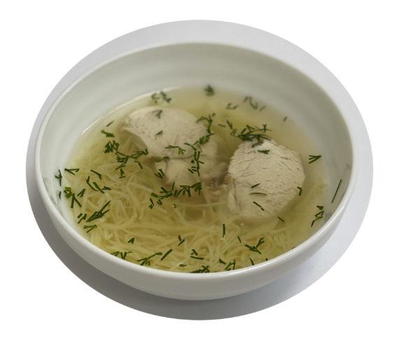 Суп лапша-домашняя с мясом цыплят