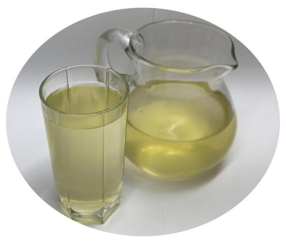 Напиток из лимона с имбирем