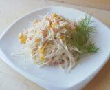 Салат крабовый со свежими огурцами